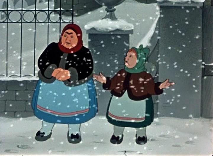 Скачать двенадцать месяцев, мультфильм 1956 г советские.