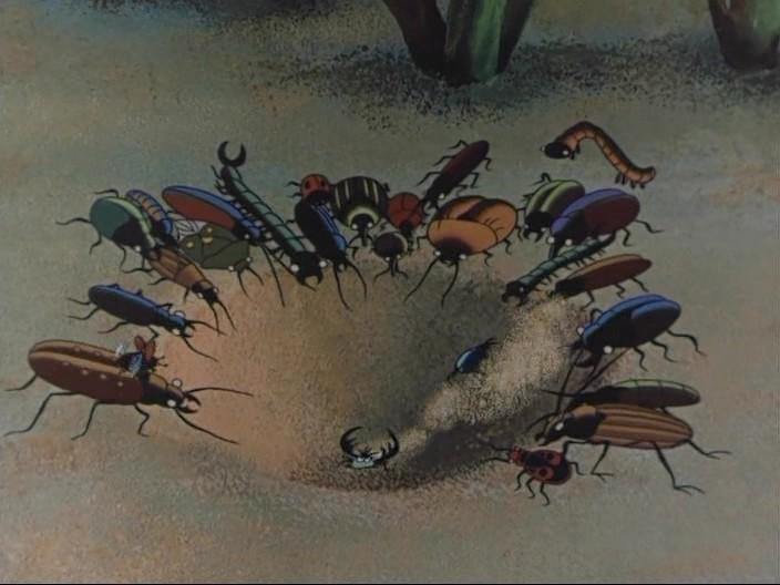 Путешествие муравья.